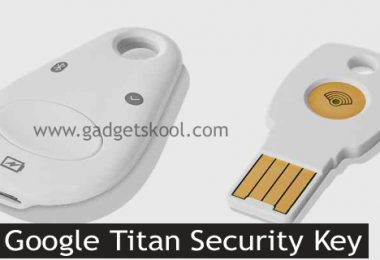 This is the Google Titan Security Key for Two-Factor Authentication